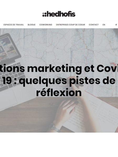 covid-19 marketing Web